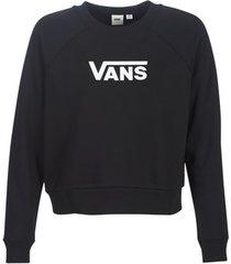 sweater vans flying v ft boxy crew