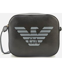 emporio armani women's eagle shoulder tote bag - black