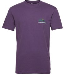 reflect ss tee t-shirts short-sleeved lila quiksilver