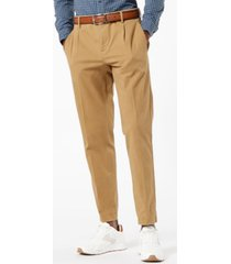 dockers men's tapered pleated heritage pants