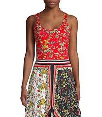 arona floral bodysuit