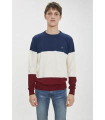 sweater natural airborn tricolor