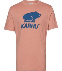 basic logo t-shirt t-shirts short-sleeved rosa karhu