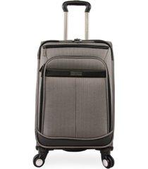 "perry ellis lexington ii 22"" softside carry-on spinner"