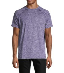bugatchi men's knit short-sleeve t-shirt - orchid - size s