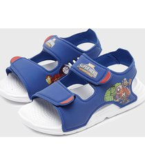 sandalia swim sandal c azul adidas performance