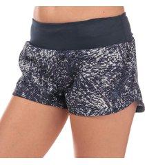 womens supernova glide print shorts
