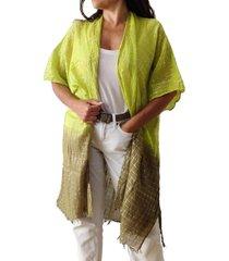 kimono verde spiga 31