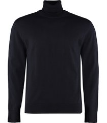 hugo boss grato turtleneck virgin-wool pullover