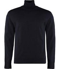 hugo boss grato turtleneck virgin-wool pullover