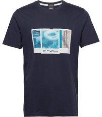 tmix t-shirts short-sleeved blå boss