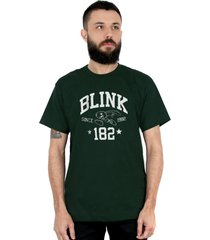 camiseta 182life college musgo - verde - masculino - dafiti
