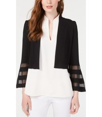 calvin klein illusion-trim shrug