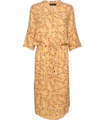 sl zaya dress knälång klänning gul soaked in luxury