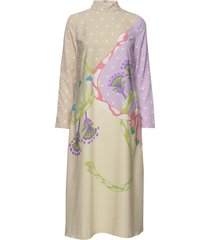 millie, 690 nile jurk knielengte multi/patroon stine goya