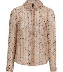 blus yasbrina ls shirt