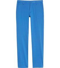 men's rhone commuter straight fit pants, size 33 - blue
