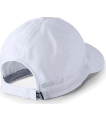 gorra running under armour fly by cap mujer blanco