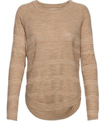 onlcaviar l/s pullover knt noos stickad tröja brun only