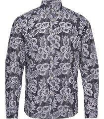 harry button down shirt overhemd casual blauw morris