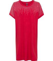 abito in maglina con dettagli glitterati (rosso) - rainbow