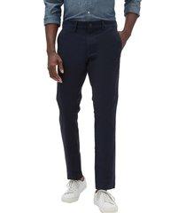 pantalon skinny khaki azul gap