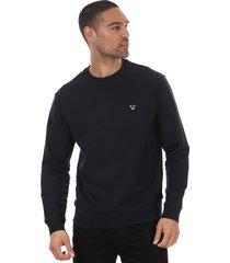 mens emoji patch logo sweatshirt