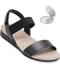 sandália modare ultra conforto e espelho md20-7113 - feminino