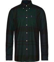 barbour dunoon shirt skjorta casual svart barbour