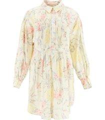 see by chloé spring fruits print mini dress