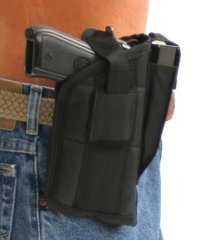 gun holster with mag pouch for ruger sr9 with tactical light
