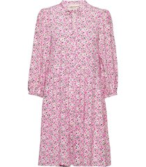 alorykb dress korte jurk roze karen by simonsen