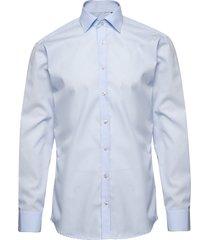 black poplin skjorta business blå bosweel shirts est. 1937