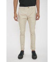 pantalón beige airborn chino new skinny