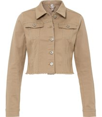 giacca con borchie (beige) - rainbow