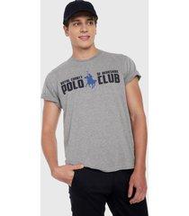 camiseta gris-negro-azul royal county of berkshire polo club