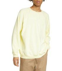 men's noon goons lightweight crewneck raglan sweatshirt