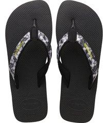 sandalias havaianas surf material negro 4144524