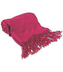 forzieri designer scarves, magenta pashmina shawl