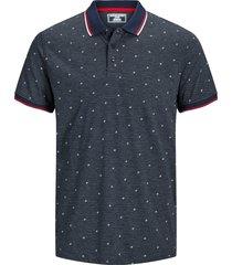 jack & jones t-shirt 12167234 jcocarlo blauw