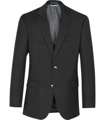 van heusen black cool flex slim fit suit separates coat