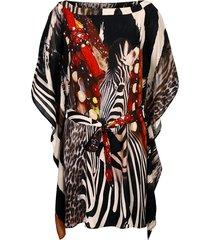 tuniek alba moda bruin gedessineerd