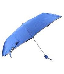 bauarte - guarda chuva de tecido impermeável bauarte - guarda chuva de tecido impermeável azul escuro