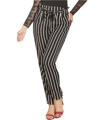 envío gratis pantalon anne negro  para mujer croydon