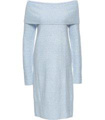 abito in maglia con spalle scoperte (viola) - bodyflirt