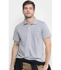 camisa polo burn color masculina