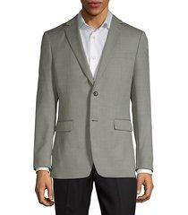 textured wool blazer