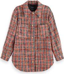 maison scotch shirt jacket