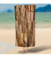 funny-stone-brick-wall-3d-print-beach-throw-towel-round-rectangle-tapestry-hangi