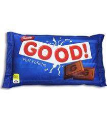 almofadão chocolate - puff - azul - dafiti